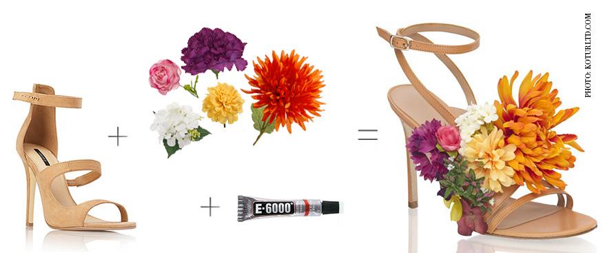 Kotur Flower Sandal