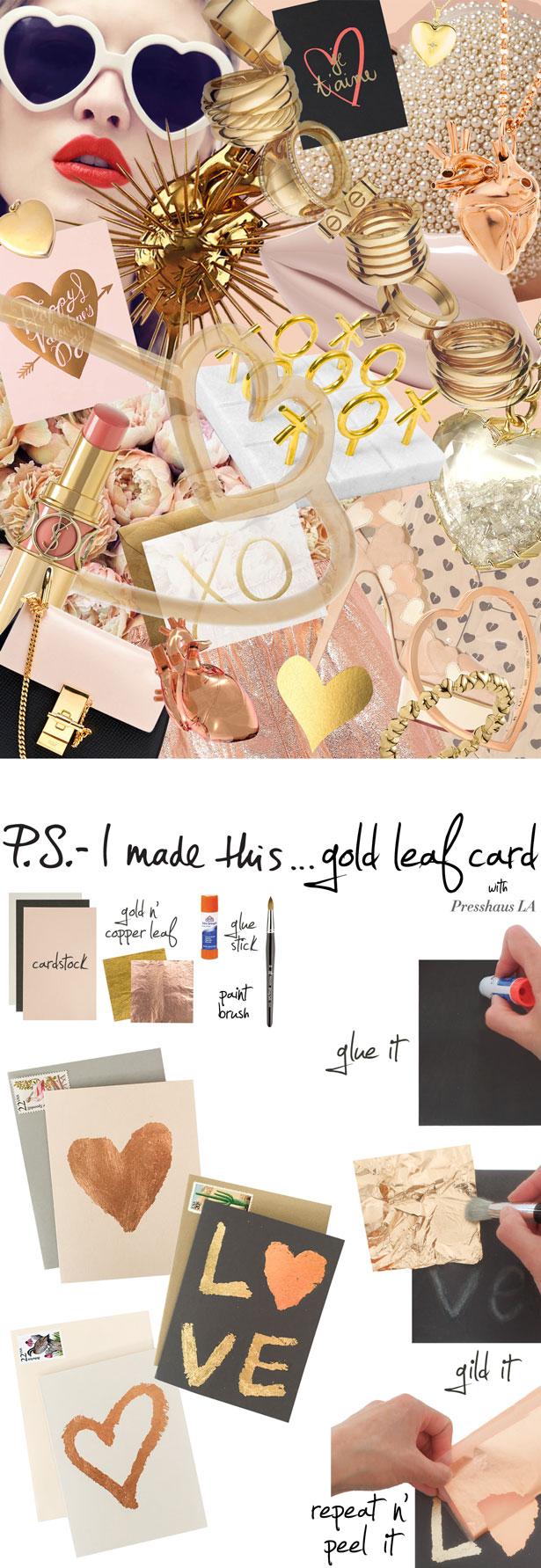 gold leaf cards