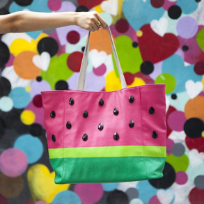 Create a TOTES amaze watermelon bag!