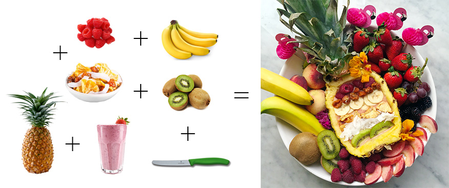 Smoothie Fruit Bowl